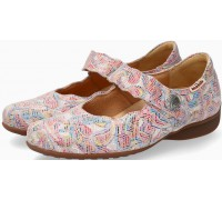 Mobils by Mephisto FLORA Leather Slip-On Shoe For Women - Wide Fit - Multicoloured