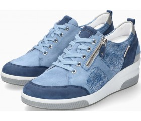 Mobils by Mephisto TRUDIE Women Sneakers - Wide Fit - Denim