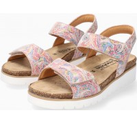 Mobils by Mephisto THELMA Women Sandal Leather - Wide Fit - Colour Mix