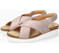 Mobils by Mephisto TALLY Women Sandal Smooth Leather - Wide Fit - Stone
