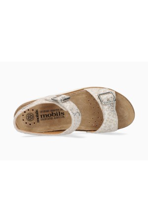 Mobils by Mephisto TARINA Women Sandal Leather - Wide Fit - Beige