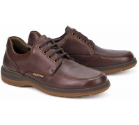 Mephisto DOUK Men's lace-up shoe - Chestnut Brown Leather