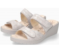 Mobils by Mephisto PAULA Women Sandal Leather - Extra Wide - Light Sand