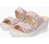 Mobils by Mephisto PAULA Women Sandal Leather - Extra Wide - Colour Mix