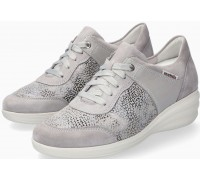 Mobils by Mephisto SIDONIA Women Sneakers Leather, Textile & Suede - Wide Fit - Light Grey