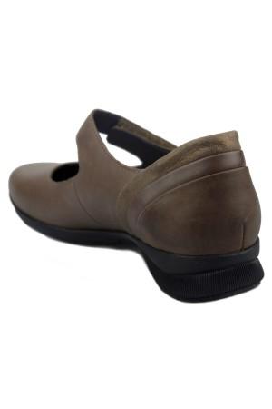 Mephisto JOYCE Women's Pump/Ballerina - Dark Taupe Leather