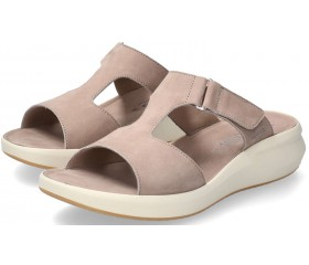 Mephisto TEENY women's sandal - Light Taupe Nubuck