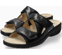 Mobils by Mephisto GEVA Women Sandal Smooth Leather - Wide Fit - Black