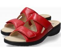 Mobils by Mephisto GEVA Women Sandal Smooth Leather - Wide Fit - Red