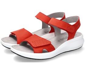 Mephisto TANY women's sandal - red nubuck