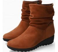 Mephisto AGATHA Nubuck Ankle Boots Women - Hazelnut
