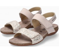Mephisto AGAVE Women Sandal Nubuck Leather - Light Sand