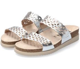 Mephisto Hennie Women Sandal - Silver Leather