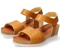 Mephisto RAPHAELA women's sandal smooth leather - Desert Brown