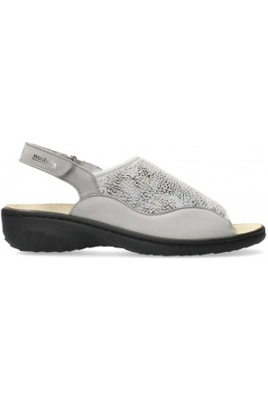 Mobils by Mephisto GISELLA Women's Sandal - Grey Nubuck mix - EXTRA WIDE