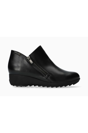 Mephisto AMALIA Leather Ankle Boots for Women - Black