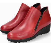Mephisto AMALIA Leather Ankle Boots for Women - Oxblood