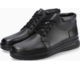 Mephisto JEFFREY Leather Ankle Boot for Men - Black