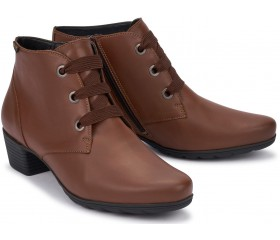 Mephisto ISABELLE Women's Ankle Boot - Hazelnut brown