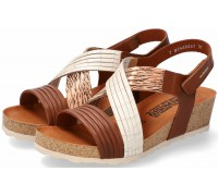 Mephisto RENZA Women's Sandal - Brown Leather