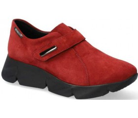 Mephisto HALYSSA Suede Ankle Boots for Women - Red