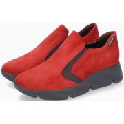 Mephisto HAZORA Suede Slip-On Shoe for Women - Red