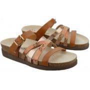 Mephisto HULEDA Women Sandal - Leather - Brown Mix