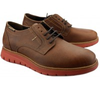Mephisto BRETT men's lace-up shoe - hazelnut brown leather