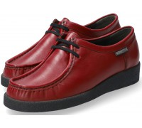 Mephisto CHRISTY women lace-up shoes - red leather