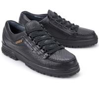 Mephisto BREAK GORE Men's Lace-up Shoe - Black Leather  (Waterproof)