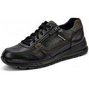 Mephisto BRADLEY leather sneakers for men - black