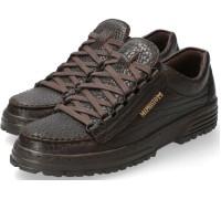 Mephisto CRUISER Men's lace-up shoe - Dark Brown Leather