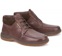 Mephisto DARWIN Men's Ankle Boot - Chestnut Brown Leather - Hydroprotect