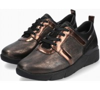 Mobils by Mephisto ILIDIA Women Sneakers Leather, Textile & Nubuck - Wide Fit - Bronze