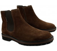Mephisto BENSON Men's Chelsea Boot - Brown Suede