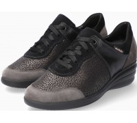 Mobils by Mephisto SIDONIA Women Sneakers Leather, Textile & Suede - Wide Fit - Grey