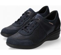Mobils by Mephisto SIDONIA Women Sneakers Leather, Textile & Suede - Wide Fit - Navy