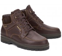 Mephisto JIM-GT Men's Ankle Boots - Brown Leather   GORE-TEX (Waterproof)
