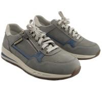 Mephisto BRADLEY Men's Sneaker - Light Grey - Leather mix