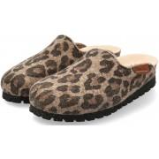 Mephisto THEA Women Slipper/Clog - Brown Jaguar Felt