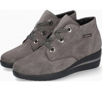Mobils by Mephisto Peryne Suede Ankle Boots for Women - Wide Fit - Grey