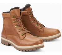 Mephisto Zorah Sup-Hydro Smooth Leather & Nubuck Ankle Boots Women - Brown