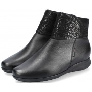 Mephisto NERIA leather/nubuck ankle boots for women - black