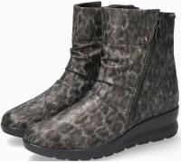 Mephisto Phila Nubuck Leather Ankle Boots Women - Bronze