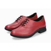 Mephisto SYLA leather laceshoe for women red