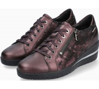 Mobils by Mephisto Patsy Nubuck & Leather Sneaker for Women - Wide Fit -  Red