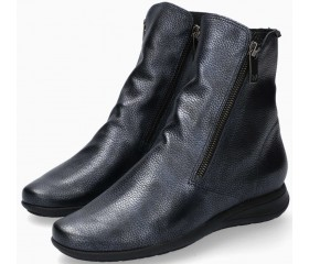 Mephisto Nessia leather ankle boots women - Blue