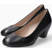 Mephisto Paldi Smooth Leather Pumps - Black