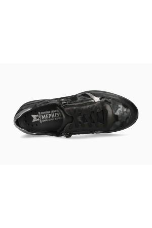 Mephisto Monia Leather Sneaker for Women - Black