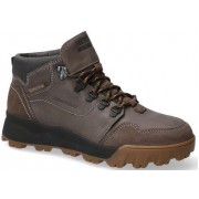 Mephisto Wayne Nubuck, Textile & Suede Boots for Men - Dark Grey